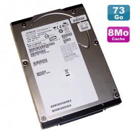 "Disque Dur 73Go SCSI 3.5"" HITACHI Ultrastar 10K300 HUS103073FL3800 10000 RPM 8Mo"