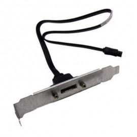 Câble I/O SATA/eSATA HP 483944-001 40cm Long Profile Equerre Longue
