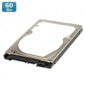 "Disque Dur 60Go SATA 2.5"" Fujitsu MHW2060BH PC Portable 5400RPM 8Mo 9mm"