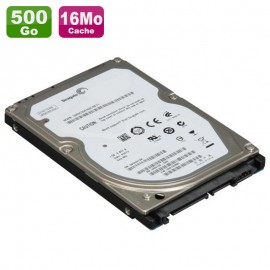 "Disque Dur 500Go SATA 2.5"" Seagate Momentus 7200.4 ST9500420AS PC Portable 16Mo"