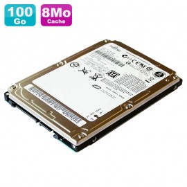 "Disque Dur 100Go SATA 2.5"" Fujitsu MHV2100BH 5400RPM Pc Portable 8Mo"