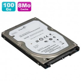 "Disque Dur 100Go SATA 2.5"" Seagate Momentus 7200.1 ST910021AS PC Portable 8Mo"