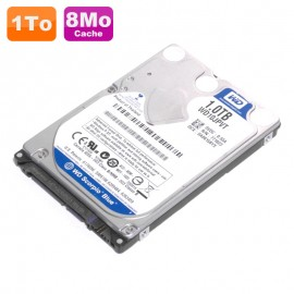 "Disque Dur 1To SATA 2.5"" Western Digital Scorpio Blue WD10JPVT 5400 Pc Portable"
