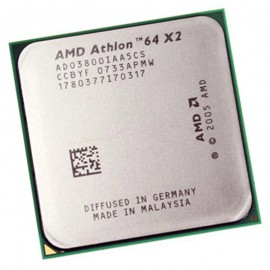 Processeur CPU AMD Athlon 64 X2 3800+ 2GHz 2x 512Ko ADO3800IAA5CS Socket AM2