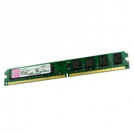 1Go RAM PC Bureau Kingston KVR800D2N6/1G 240-PIN DDR2 PC2-6400U CL6 Low Profile