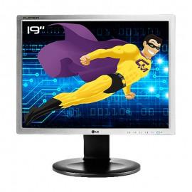 "Ecran PC Pro 19"" LG FLATRON E1910PM-SNW.AEUKOPN VESA DVI-D VGA 1280x1024 5:4"