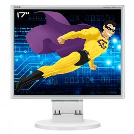 "Ecran PC 17"" NEC MultiSync LCD175M L174F1 VESA VGA DVI-D Audio 5:4 1280x1024"
