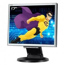 """Ecran PC 17"""" NEC MultiSync E171M-BK L174F1 VESA VGA DVI-D Audio 5:4 W-LED LCD"""