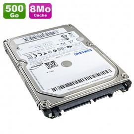 """Disque Dur 500Go SATA 2.5"""" Samsung SpinPoint M7 HM500JI 5400RPM Pc Portable 8Mo"""