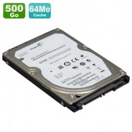 """Disque Dur 500Go SATA 2.5"""" Seagate ST500LM000 5400RPM PC Portable 64Mo"""