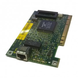 Carte Réseau 3COM 3C905B-TX ETHERLINK 10/100 PCI FAB 02-0172-000 REV 01 1x RJ45