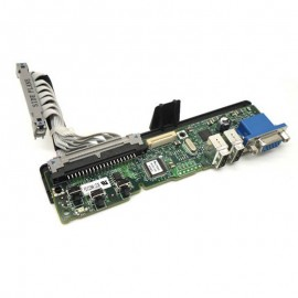 Carte Control Panel 0JH878 VGA 2x USB DELL +Câble FC475 1900 2900 2950 PowerEdge