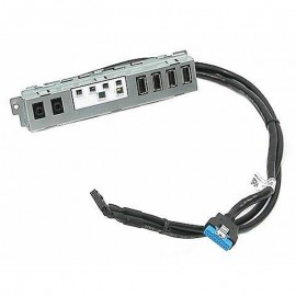 Front Panel I/O Dell 0DH7MN DH7MN 4x USB Audio/Micro Optiplex 7010 9010 MT