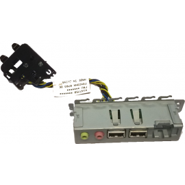 Carte Façade Front Panel I/O IBM 41A7759 2x USB Audio/Micro ThinkCentre M55