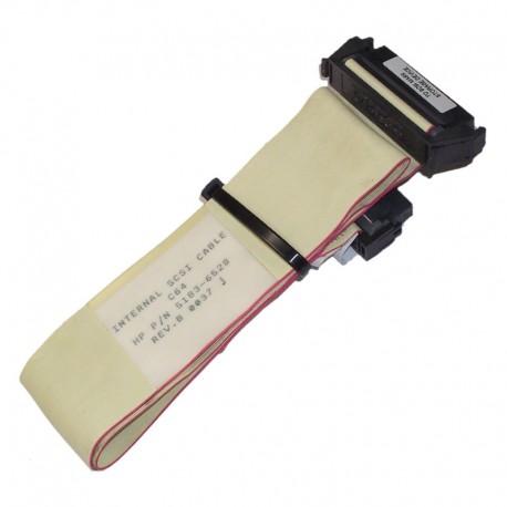 Câble Nappe Interne SCSI HP Compaq 5183-6528 68-Pin 50cm Cordon