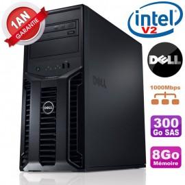 Serveur DELL PowerEdge T110 II Xeon QuadCore E3-1220 V2 8Go Ram Ecc 300Go SAS