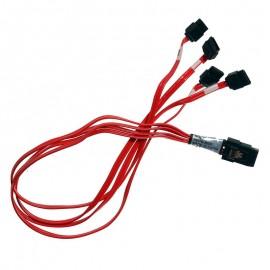 Câble Carte Molex 79576-3003 Mini-SAS 4x eSATA 45cm SFF-8087 9650SE12/16ML Nappe