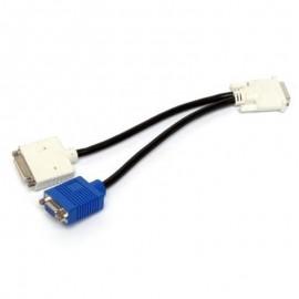 Câble doubleur DVI Sorties VGA + DVI Dell 0X2026 X2026 Ecrans Dual Screen 25cm