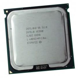 Processeur CPU Intel Xeon Dual Core 5110 1.6Ghz 4Mo 1066Mhz LGA771 SLAGE