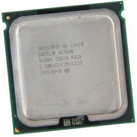 Processeur CPU Intel Xeon Quad Core L5420 2.5Ghz FSB 1333Mhz 12Mo LGA771 SLBBR