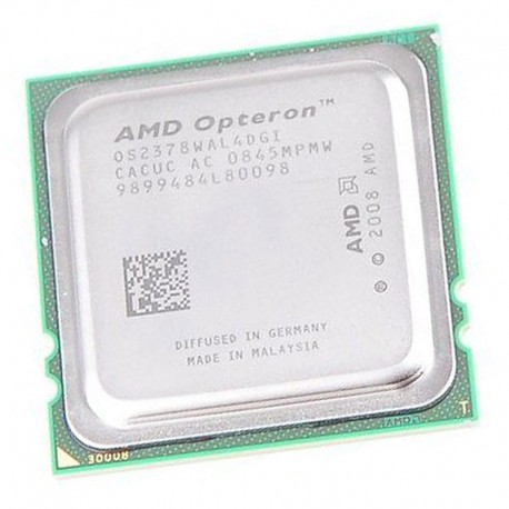 Processeur CPU AMD Opteron 2378 2.4Ghz 6Mo FR2 1207 Quad Core OS2378WAL4DGI