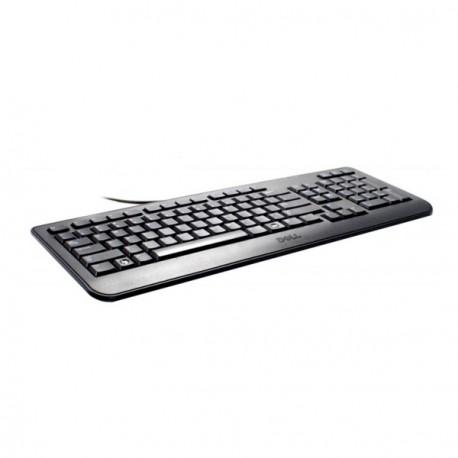 Clavier DELL Slim USB Azerty Noir KB2521 104 Touches (0J5TRP) Pc Professionnel