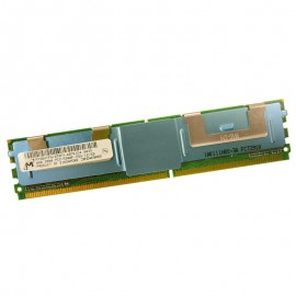 4Go RAM Serveur Micron MT36HTF51272FY-667E1D4 PC2-5300F DIMM DDR2 667Mhz 2Rx4