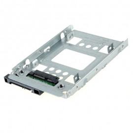 """Rack Adaptateur Disque Dur SSD 2.5"""" SAS vers SATA HP-654540-001 sans Vis"""