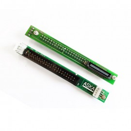 Carte Adaptateur ASKA 04273 REV.2 CD/DVD IDE Slim 50-Pin vers IDE 40-Pin