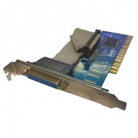 Carte Adaptateur PCI Port DB25 Parallèle WCH CH352L CP2 REV:C Equerre Longue