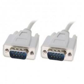 Câble Adaptateur Moniteur DB9 Male RCA THOMSON pcstuff EU1592 1.8m Gris NEUF