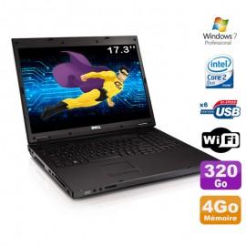 """PC Portable 17.3"""" Dell Vostro 1720 Core 2 Duo P8600 2.4Ghz 4Go Disque 320Go W7"""