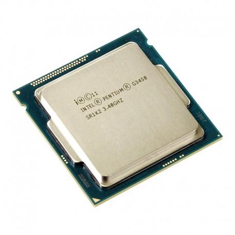 Processeur CPU Intel Pentium G3450 3.4Ghz 3Mo 5GT/s FCLGA1150 Dual Core SR1K2