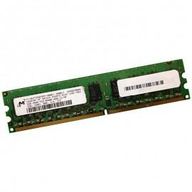 2Go RAM Serveur MICRON MT18HTF25672AY-800E1 DDR2 PC2-6400E ECC 800Mhz 2Rx8 CL6