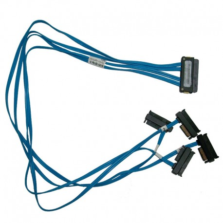 Câble Cordon Nappe SATA SAS HP Amphenol 451375-001 457892-001 ProLiant ML110 G5