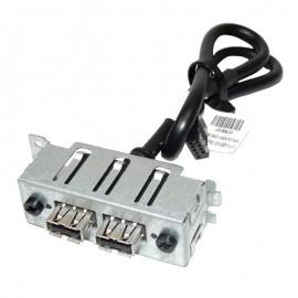 Front Panel 2x USB HP 449818-001 457898-001 HPM-00000218-100 ProLiant ML110 G5