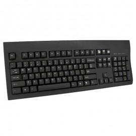 Clavier Azerty Noir USB Microsoft KU-8933 901716-06 PC Keyboard 104 Touches