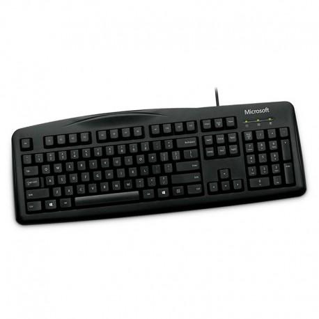 Clavier PC Azerty Noir USB Microsoft Keyboard 200 1406 JWD-00033 105 Touches