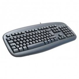 Clavier Azerty Noir USB NEC Y-UH61 867937-0120 PC Keyboard 104 Touches