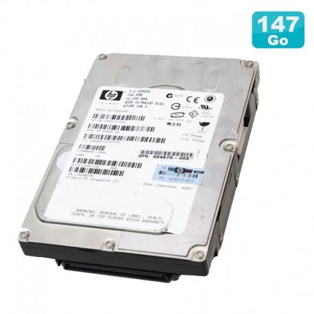 Disque Dur 146Go Ultra160 SCSI 3.5 HP ATLAS BD14687B52 356910-002 80Pin 10000RPM