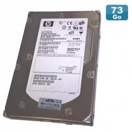 Disque Dur 72.8Go Ultra320 SCSI 3.5 HP WIDE BF0728A4CB 360209-010 80Pin 15000RPM