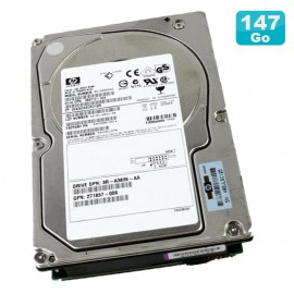 "Disque Dur 146Go Ultra320 SCSI 3.5"" HP WIDE BD14685A26 286712-006 80Pin 10000RPM"