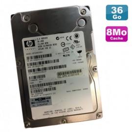 Disque Dur 36.4Go Ultra320 SCSI 3.5 HP WIDE BF03687B54 356914-001 80Pin 15000RPM