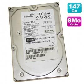 Disque Dur 146Go SCSI 3.5 Seagate Cheetah 10K.7 ST3145707LC Sun ST314670LSUN146G