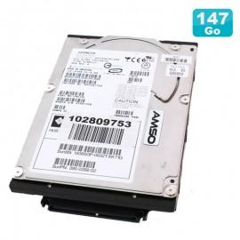 "Disque Dur 146Go SCSI Ultra320 3.5"" HITACHI HUS103014FL3800 Sun HUS10143ASUN146G"