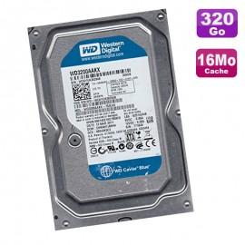 "Disque Dur 320Go SATA 3.5"" Western Digital WD3200AAKX-753CA0 7200RPM 16Mo"