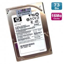 """Disque Dur Serveur 72Go SAS 2.5"""" Hewlett Packard DG072BB975 10000RPM 16Mo"""
