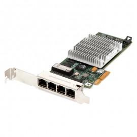 Carte Réseau HP NC375T 539931-001 PCI-e 4x Port Ethernet RJ-45 10/100/1000 Mbps