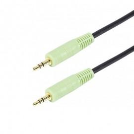 Câble Audio Jack 3.5mm 150cm Noir