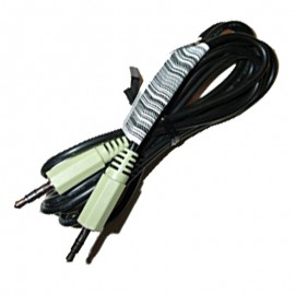 Câble Audio Jack 3.5mm Mâle HP 089G-17356 150cm Noir NEUF